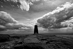 shutlingsloe trig point