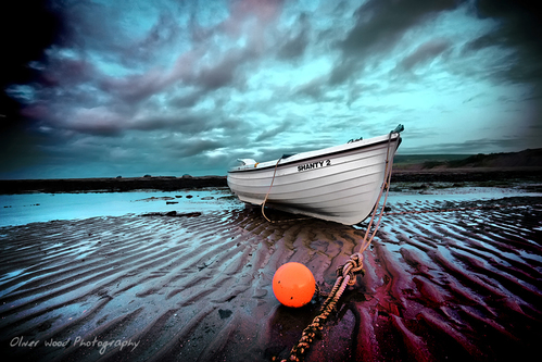 Fishing boat Robin Hoods Bay