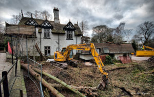ford house demolition