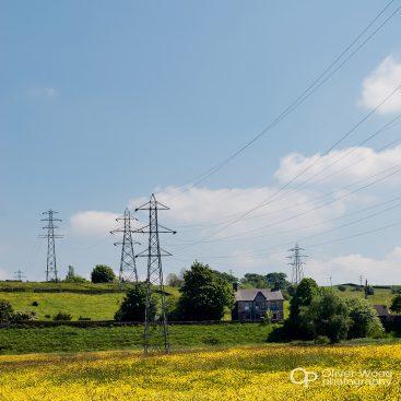 Pylons New Mills
