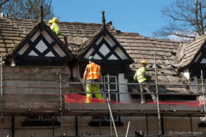 Salvaging Roof Slates
